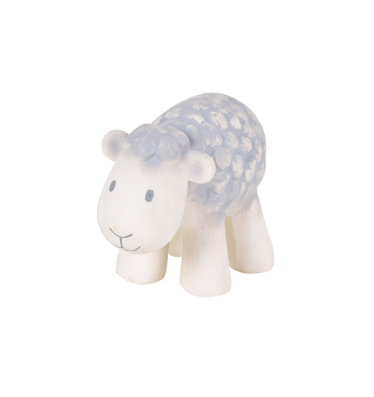 Tikiri Sheep Rubber Teether and Rattle