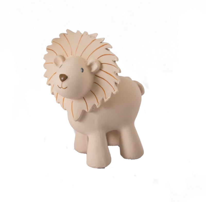 Tikiri Lion Rubber Teether and Rattle