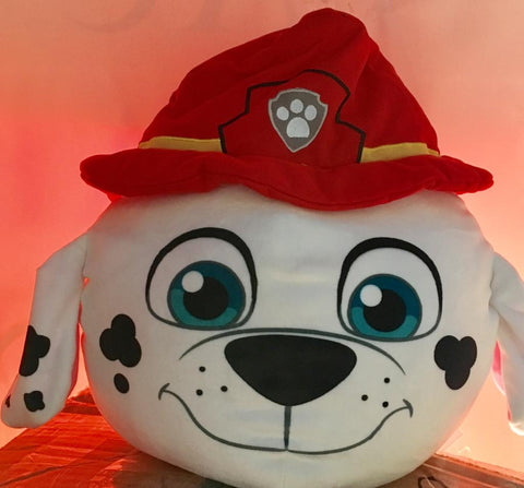 Nickelodeon Paw Patrol Ultra Stretch 3 D Cloud Pillow Marshall