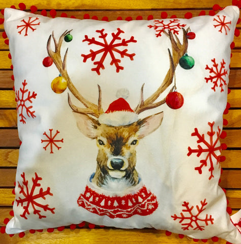 Rudolph Light Up Pillow