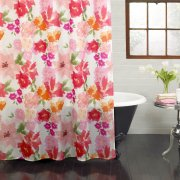 Shower curtain - Poises field