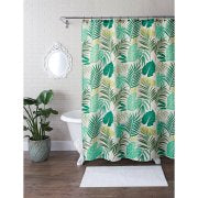 Shower curtain. Tropical Flora