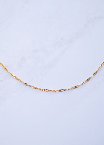 Twisted Chain Choker