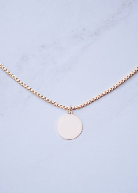 Bar Tag Necklace