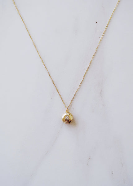 Orb Crystal Necklace