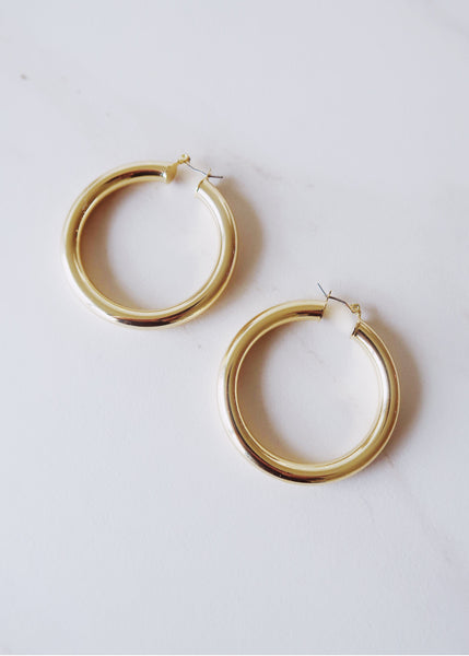 Portia Large Hoops