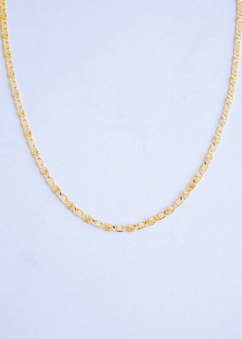 Stamped Chain Necklace