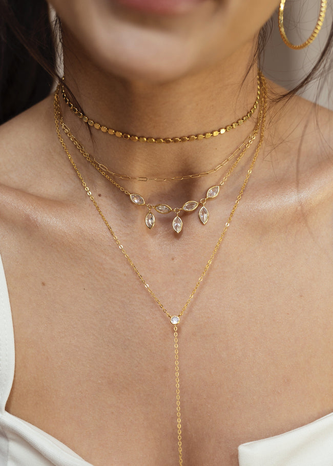 Marquise Charms Choker