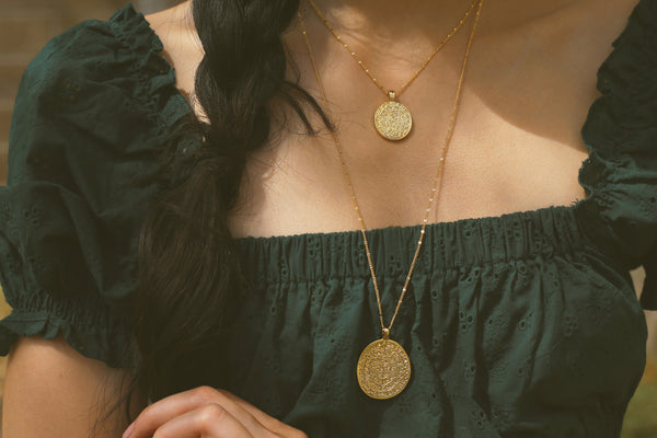 Greek Layered Necklace
