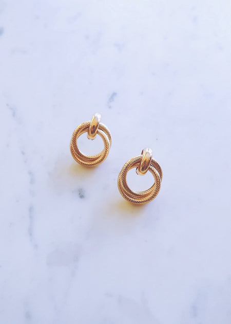 XL Gold Hoops