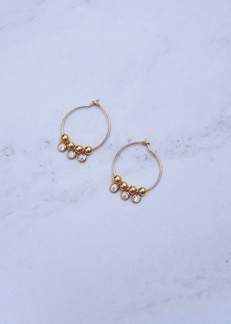Thick Tube Hoops