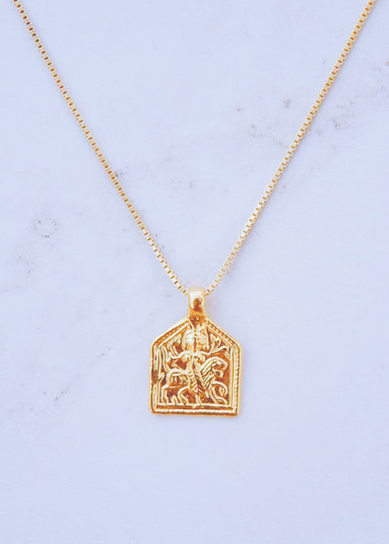 Durga Pendant Necklace