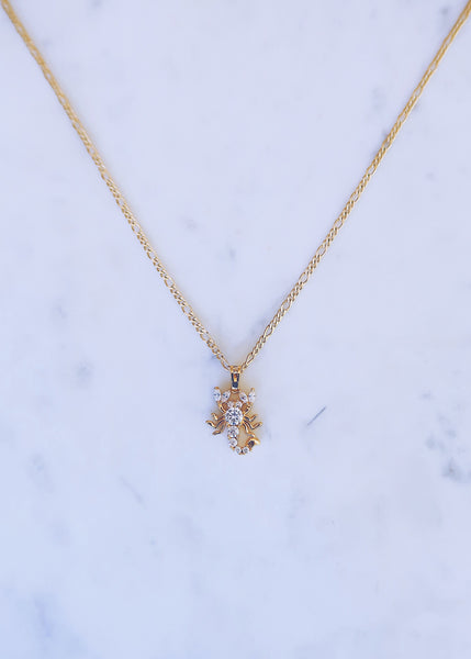 Crystala Scorpion Necklace