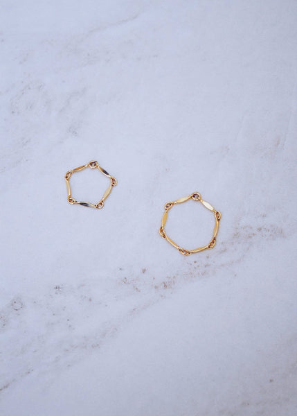 Marquise Stacking Rings