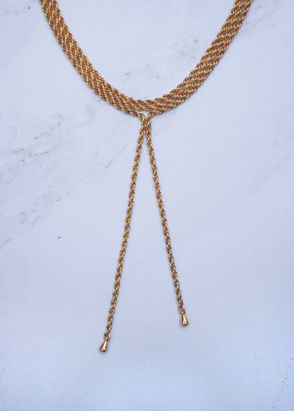 Tie Me Up Necklace