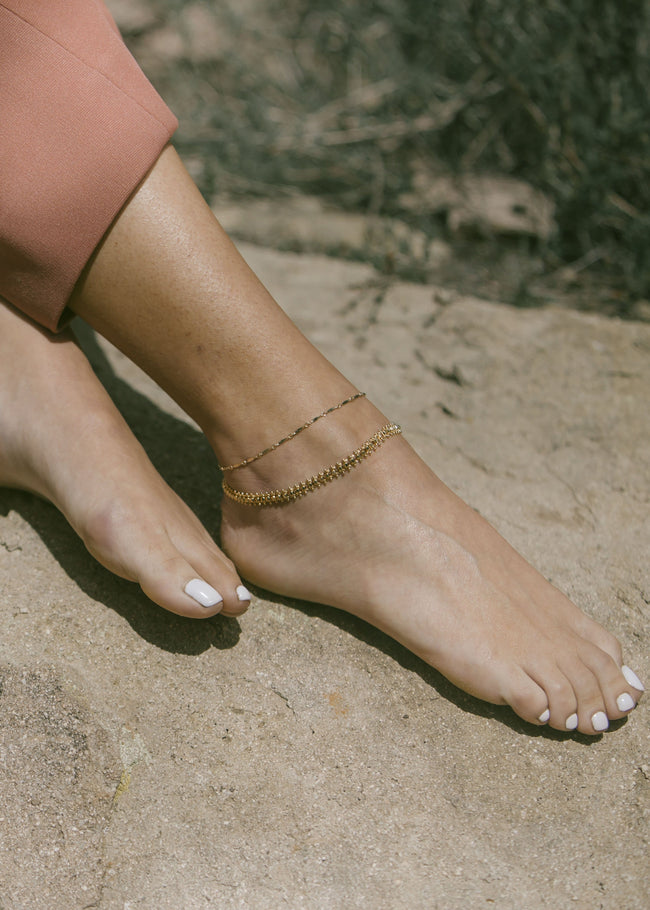 Marquise Anklet