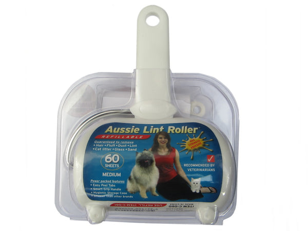 Aussie Lint Roller Medium with 60 Sheets