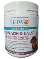 Blackmores PAW Coat, Skin & Nails Multivitamin Chews 300g