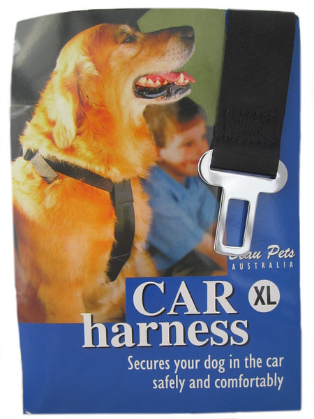 Beau Pets Car Travel Harness Seatbelt for Small Dogs