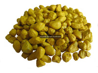 Gravel Painted Yellow 5mm 600g