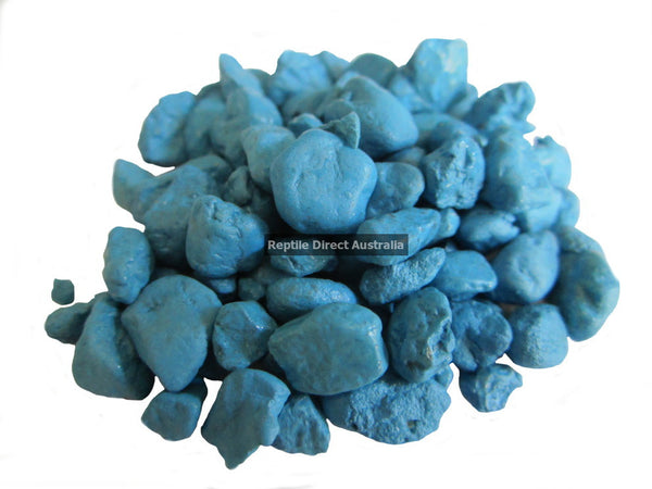 Gravel Painted Blue 5mm 600g