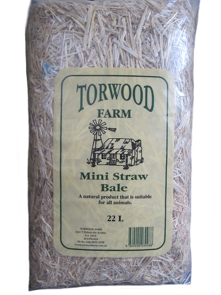 Torwood Farm Mini Straw Bale 3.5kg