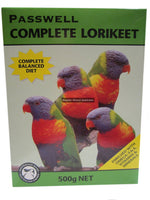 Passwell Complete Lorikeet Food 500g