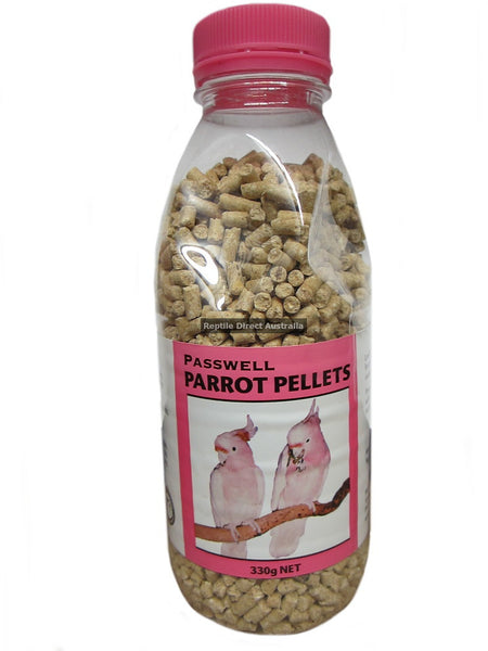 Passwell Parrot Feed Pellets 330g