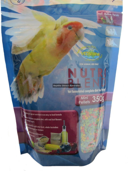 Vetafarm Nutriblend Mini Pellets 350g