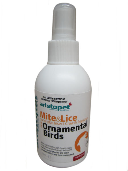 Aristopet Bird Mite & Lice Spray 125ml