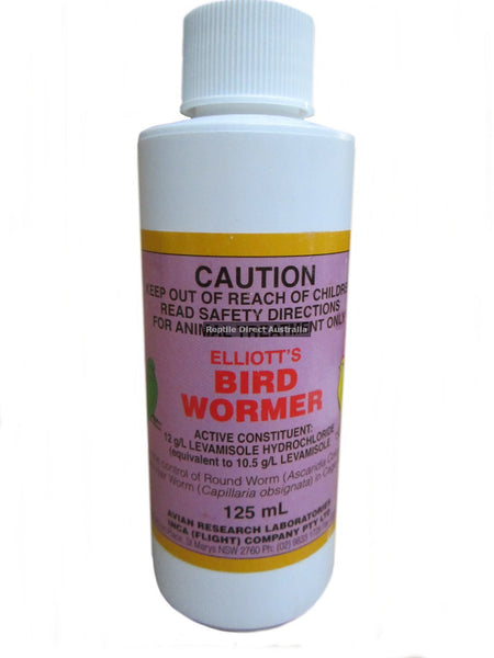 Elliott's Bird Wormer 125ml