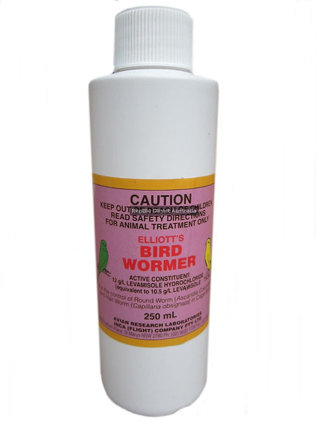 Elliott's Bird Wormer 250ml