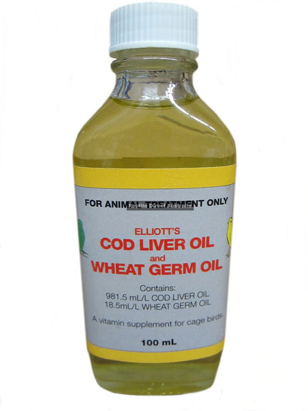 Cod Liver & Wheat Germ Oil 100ml