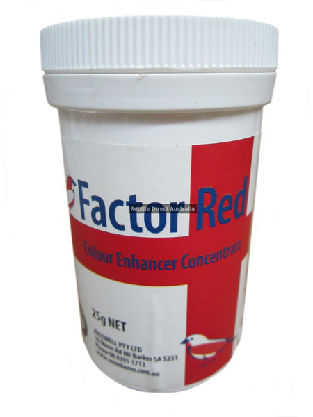 Factor Red Colour Enhancer Concentrate 25g
