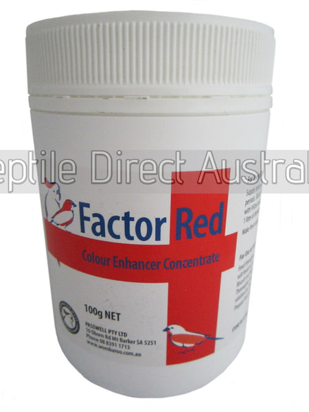 Factor Red Colour Enhancer Concentrate 100g