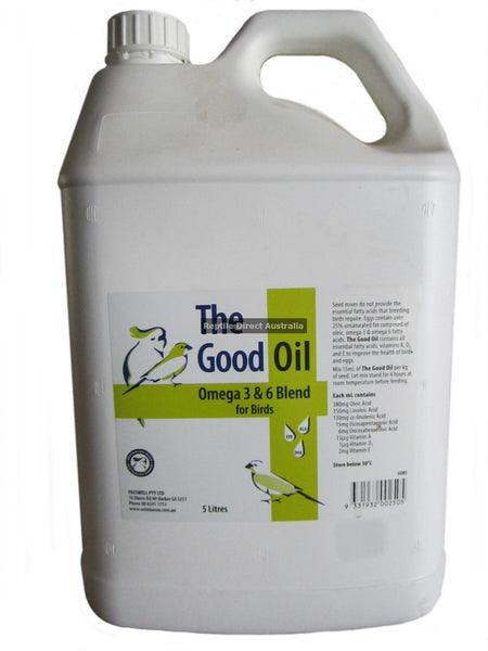 Good Oil for Birds 5L
