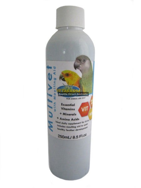 Multivet with Moulting Aid 500ml