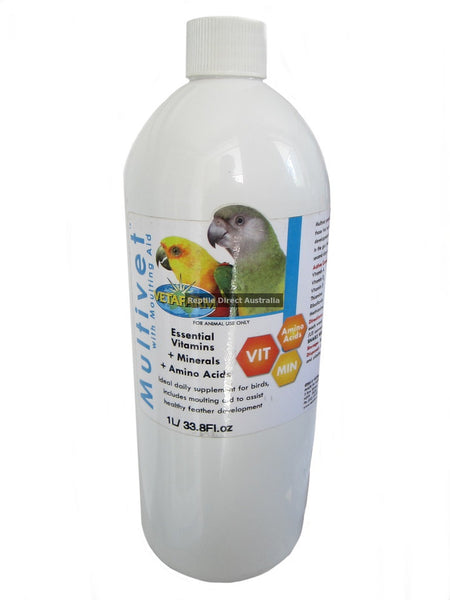 Vetafarm Multivet with Moulting Aid 1L