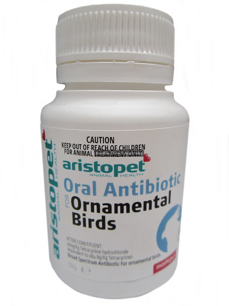Oral Antibiotic Ornamental Birds 50g
