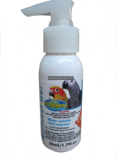 Vetafarm Wormout Gel 50ml