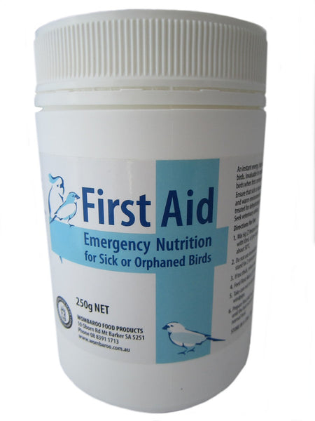 First Aid Emergency Nutrition for Birds 250g