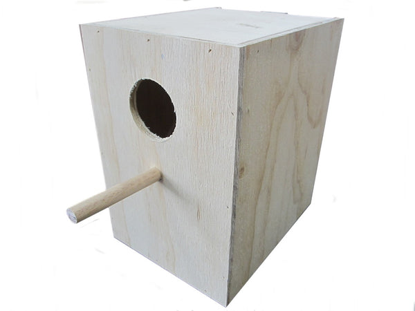 Budgie Bird Nest Box Plywood
