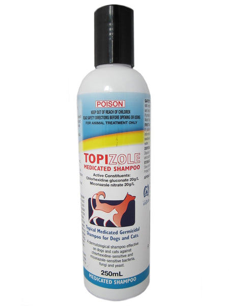 Mavlab Fidos Topizole Medicated Shampoo 500ml