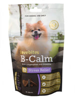 Vetafarm Lovebites B-Calm 20 chews natural stress relief