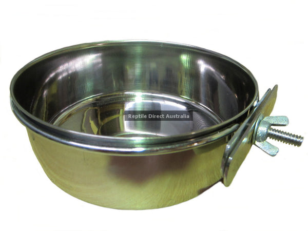 Stainless Steel Bird Feed Water Cup 30oz