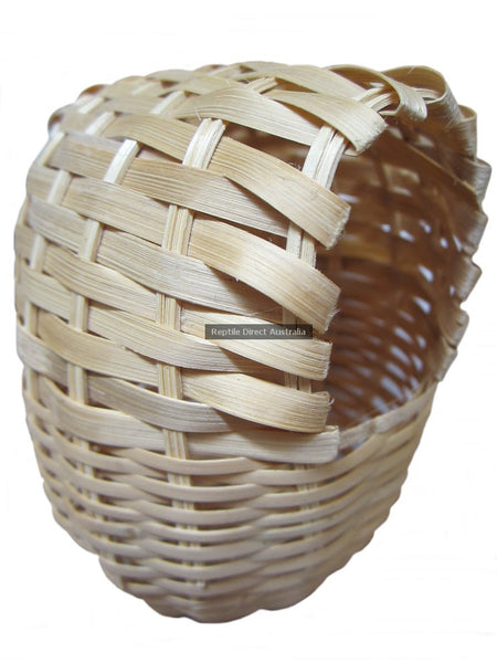 Cane Hooded Finch Nest Basket 15cm