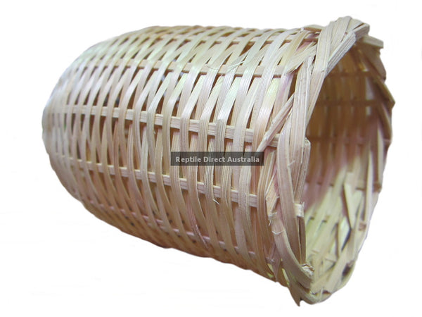 Cane Open Finch Nest Basket 13cm