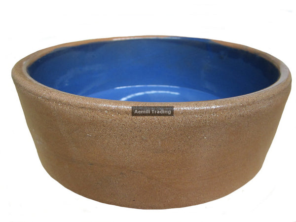 Ceramic Water or Feed Bowl 7""
