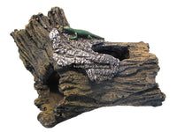 Resin Hollow Log Ornamental