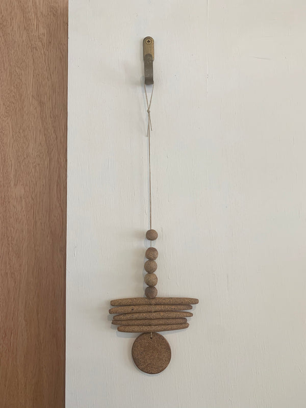 Raw Ceramic Wall Hanging